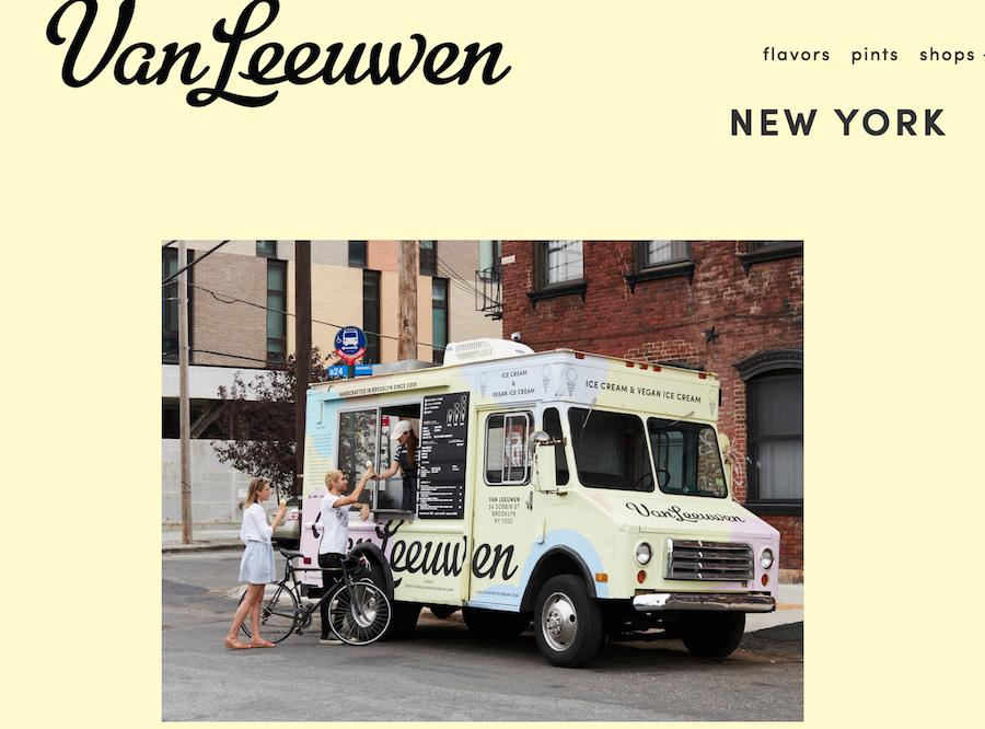纽约素食冰淇淋品牌 Van Leeuwen 获私募基金 Strand Equity投资