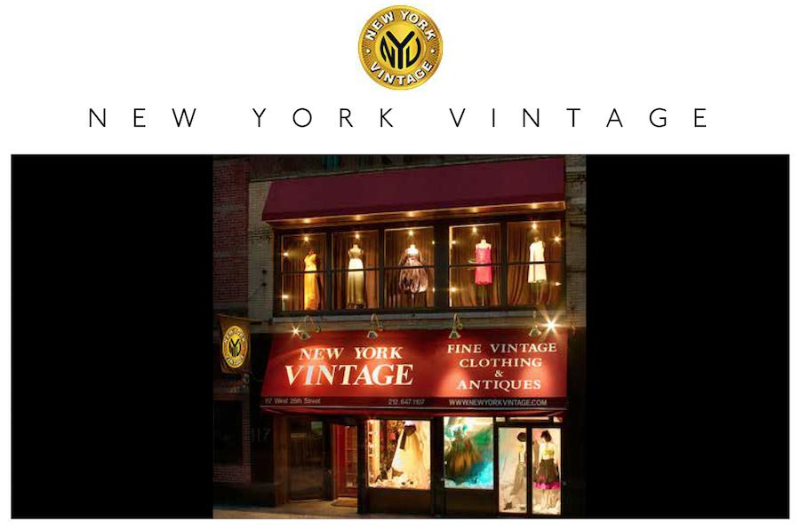 阿黛尔、蕾哈娜等大批明星常来淘货的二手奢侈品店: New York Vintage