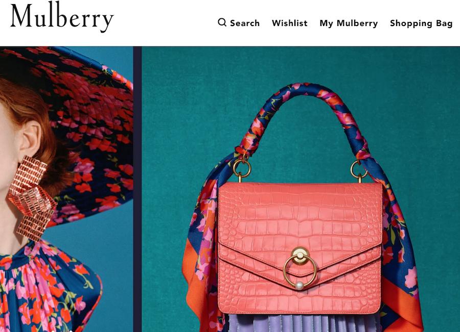 受 House of Fraser 牵累,英国轻奢品牌 Mulberry 发布盈利预警后周一股价跌幅创20年来之最