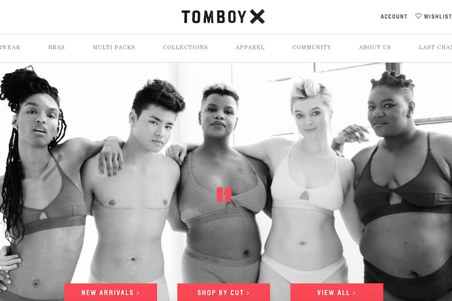 """美国互联网""""中性内衣""""初创公司 TomboyX 完成430万美元 A轮融资"""