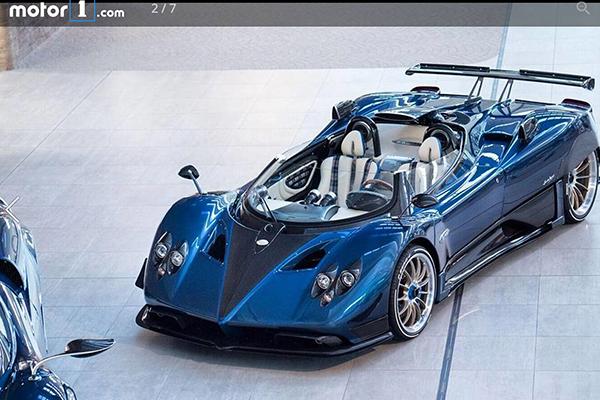 全球最贵汽车横空出世:价值1.2亿元人民币的意大利 Pagani 豪车跑车亮相英国古德伍德速度节