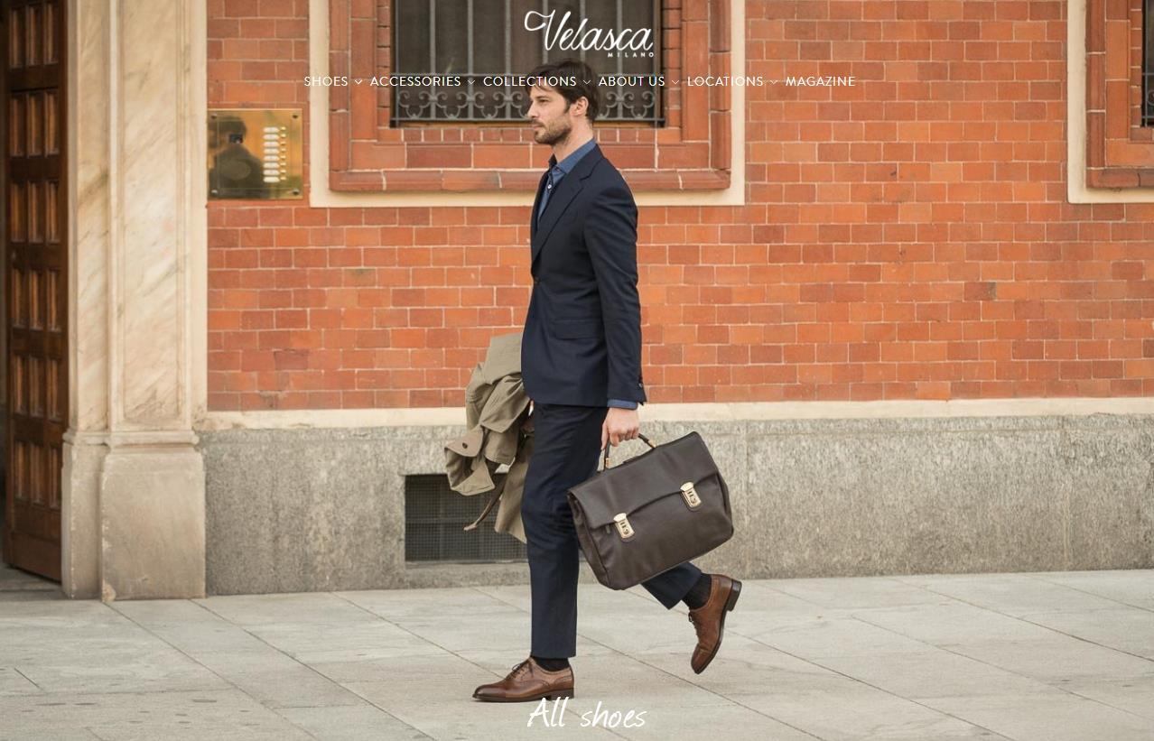 意大利互联网手工男鞋初创品牌 Velasca 获250万欧元投资