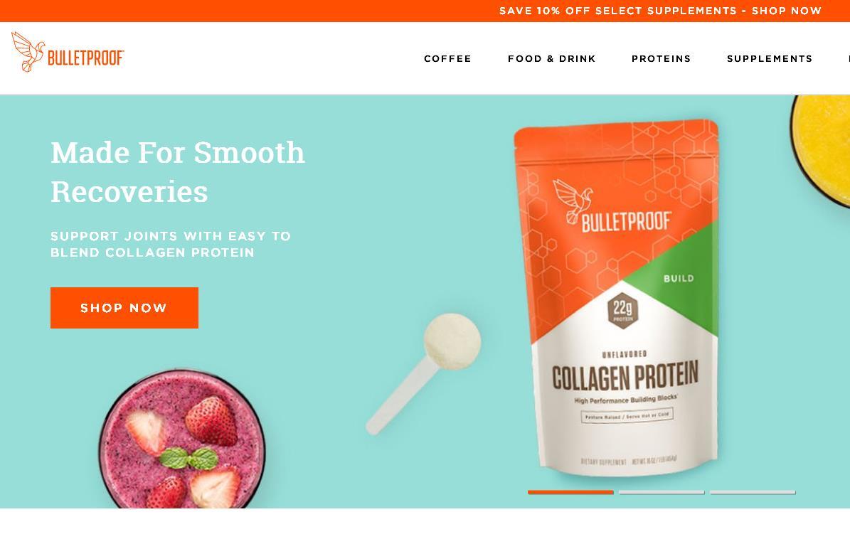 """""""高脂肪咖啡""""生产商、美国健康生活方式公司 Bulletproof 完成4000万美元 C 轮融资"""