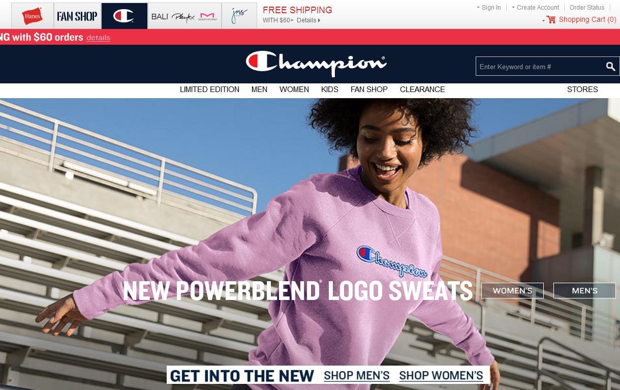 美国潮牌 Champion全球销售剑指20亿美元,将终止与零售商Target合作的消息致母公司股价大跌19%