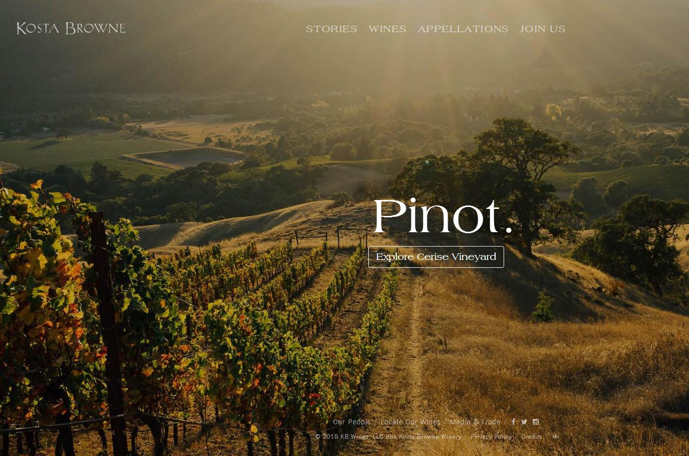 私募基金 TSG 旗下葡萄酒集团 Duckhorn 收购加州知名葡萄酒庄园 Kosta Browne