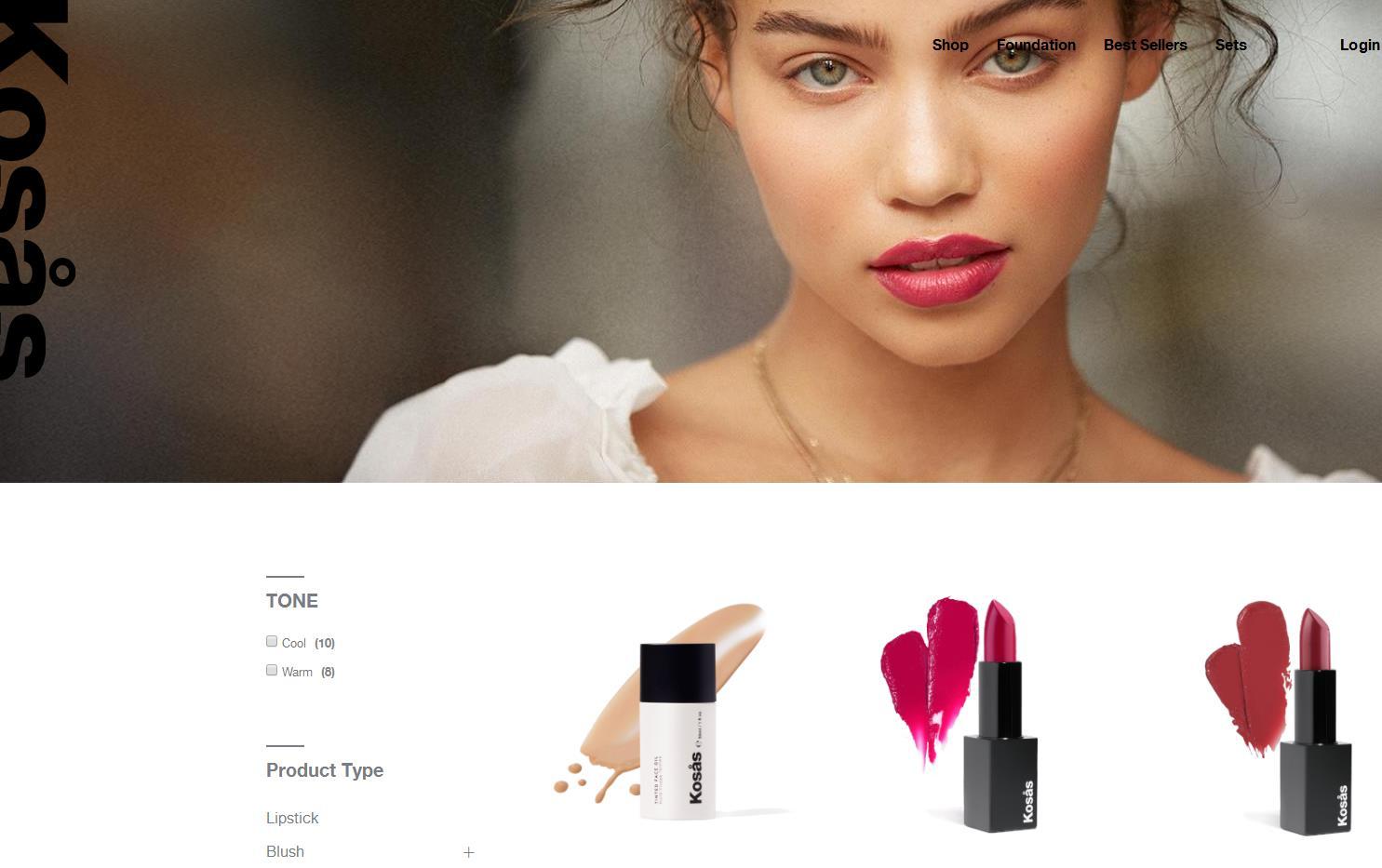 美国天然彩妆公司 Kosås 完成新一轮融资,2018年销售额预计同比增长300%