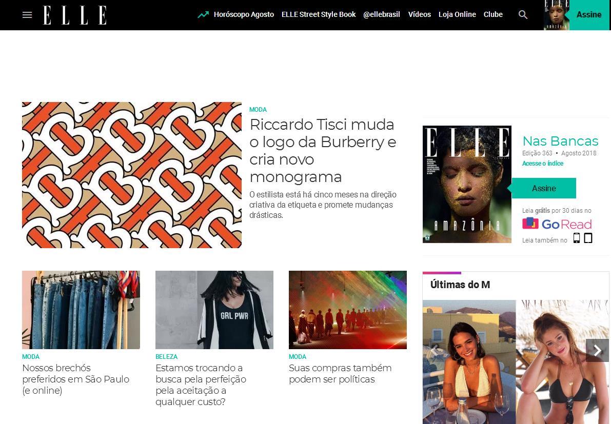 拉美传媒巨头 Grupo Abril 业务重组,旗下巴西版《Elle》和《Cosmopolitan》等多本时尚杂志停刊