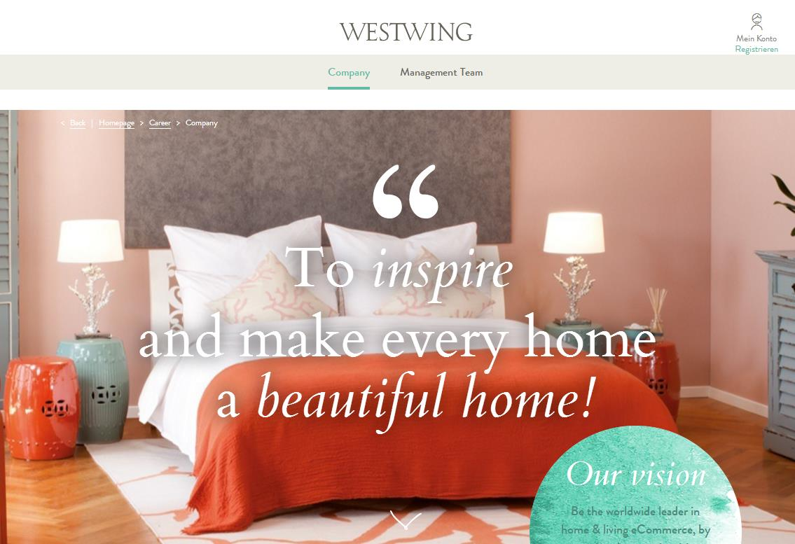 德国互联网家具初创公司 Westwing 将于2018下半年启动 IPO,目标估值4.5亿欧元