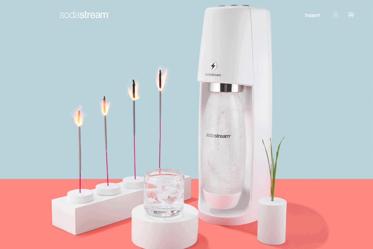 健康饮料正当红,百事公司以32亿美元收购家用碳酸饮料机制造商 SodaStream