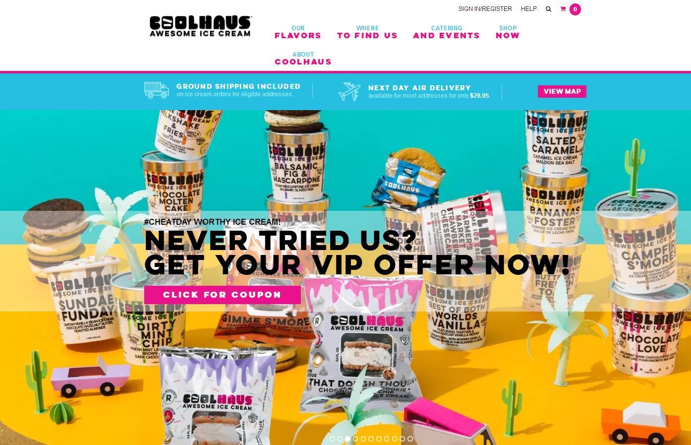 """""""专攻千禧代市场的冰激凌帝国"""",Coolhaus 获得美国新兴食品创业加速器 Sunrise 投资"""