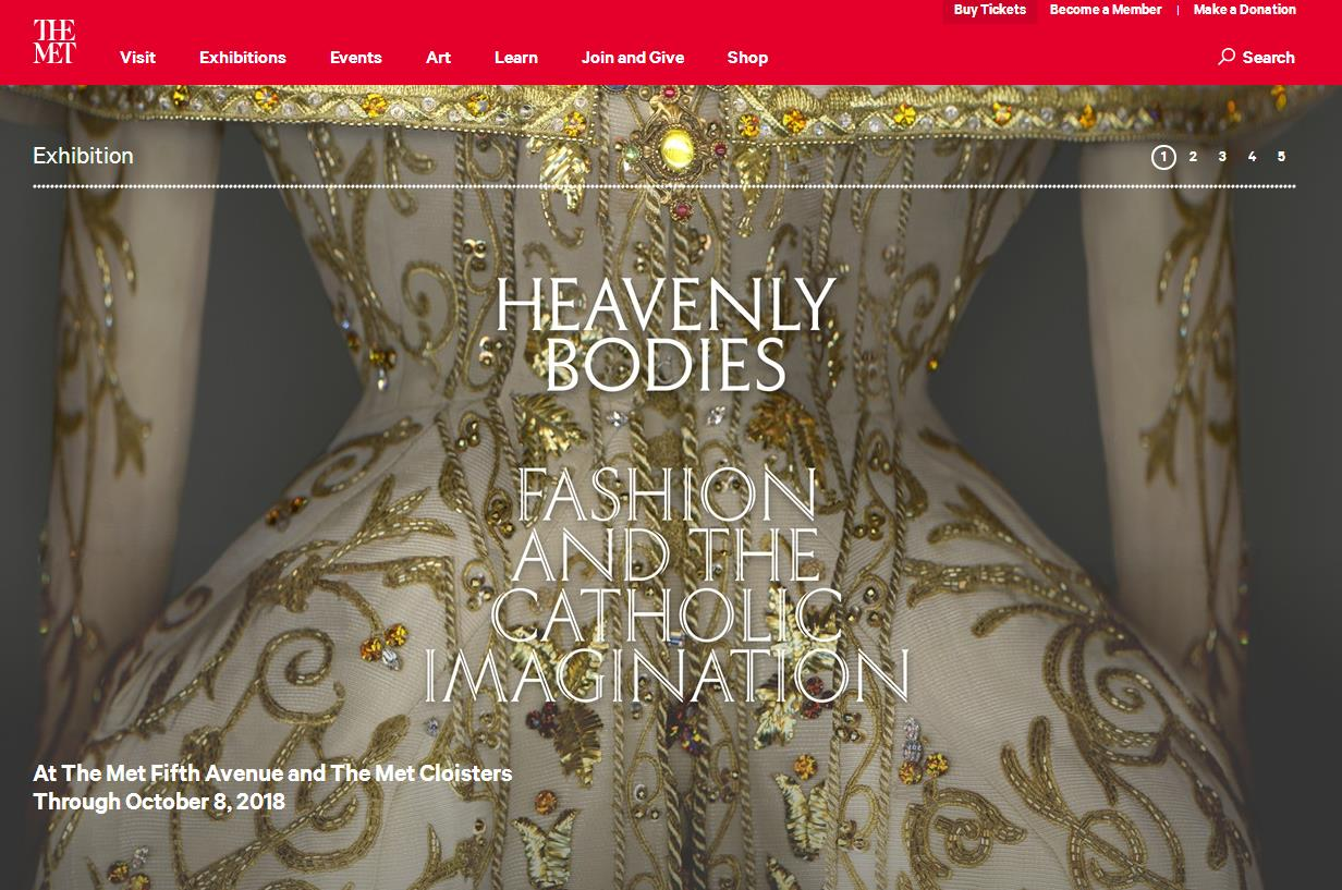 """讲述时尚和天主教的渊源:纽约大都会博物馆年度特展""""神圣之躯""""三个月观众破百万"""