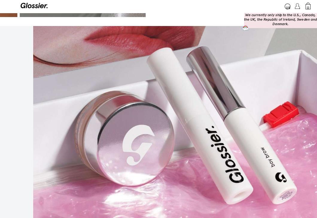 """互联网美妆品牌 Glossier 为何备受投资人追捧?解析""""双管齐下""""的发展战略"""
