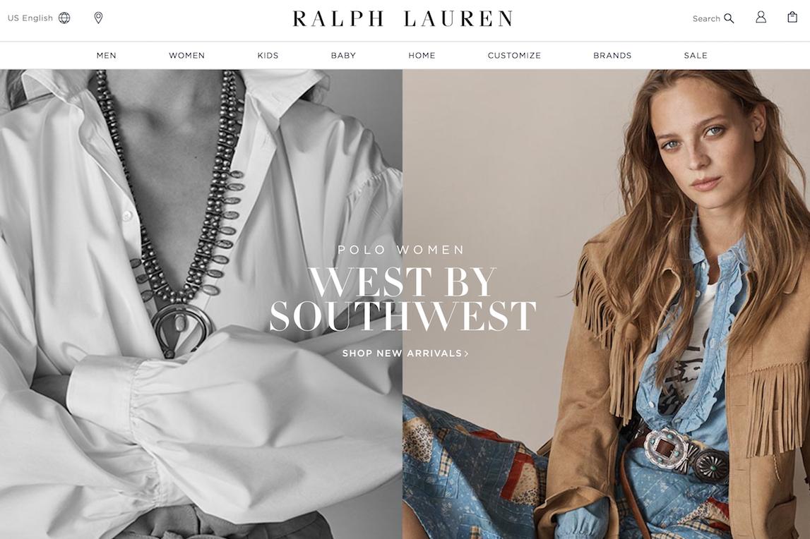 Ralph Lauren上季度中国大陆销售大增40%,希望未来五年中国市场销售额能达到5亿美元