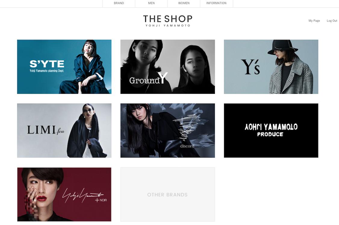 山本耀司推出一站式全球购物网站 The Shop Yohji Yamamoto,涵盖旗下7个品牌