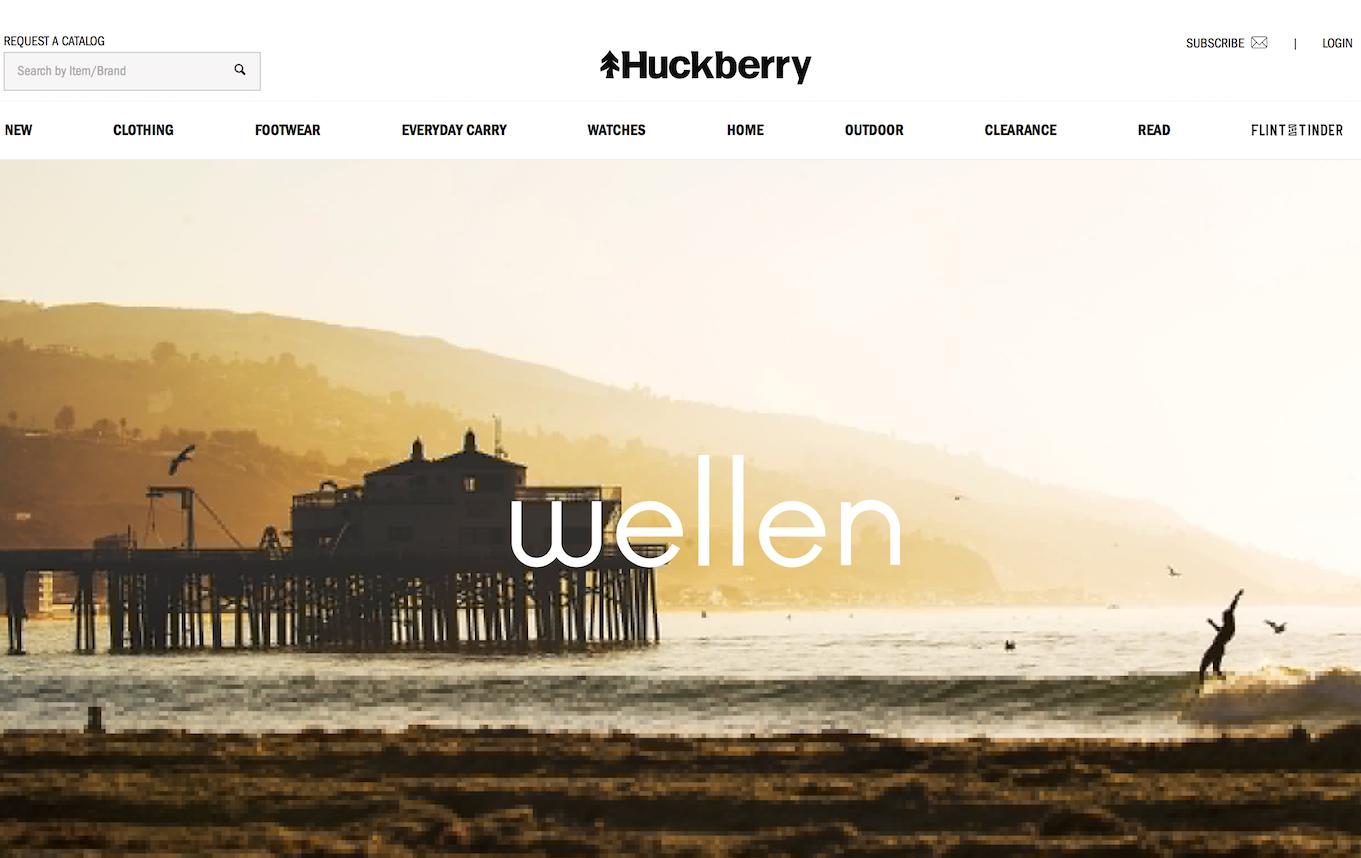 美国男装电商Huckberry 收购高端冲浪品牌 Wellen