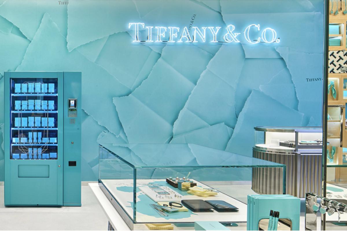 Tiffany 在伦敦新零售概念店 Style Studio 内推出首个香水自动贩售机