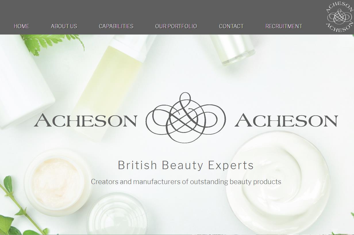 英国美容产品电商 The Hut Group 以6000万英镑收购英国高级美妆产品授权制造商 Acheson & Acheson
