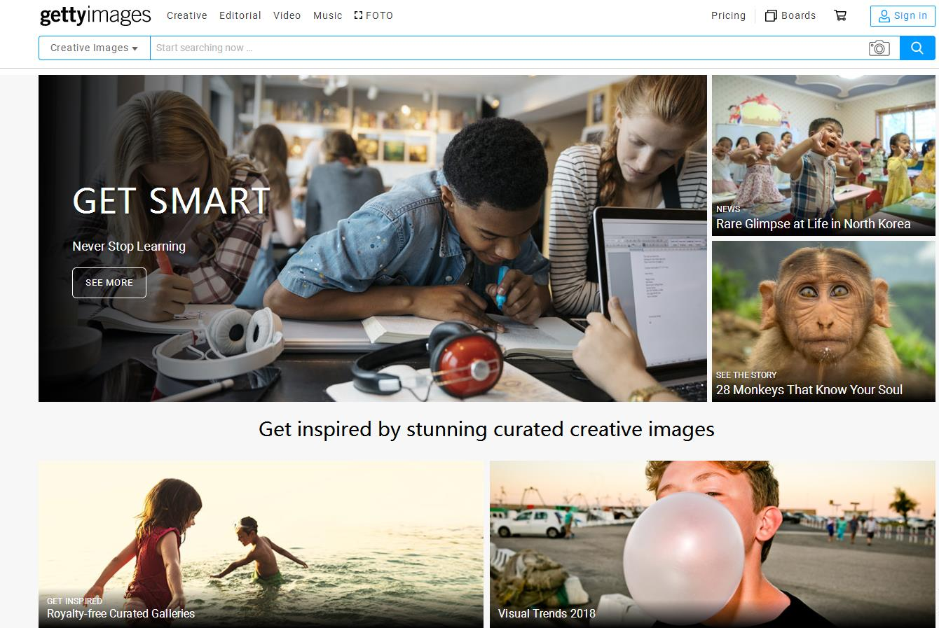 视觉媒体服务供应商 Getty Images 的创始人家族将从凯雷集团手中购回51% 控制股权