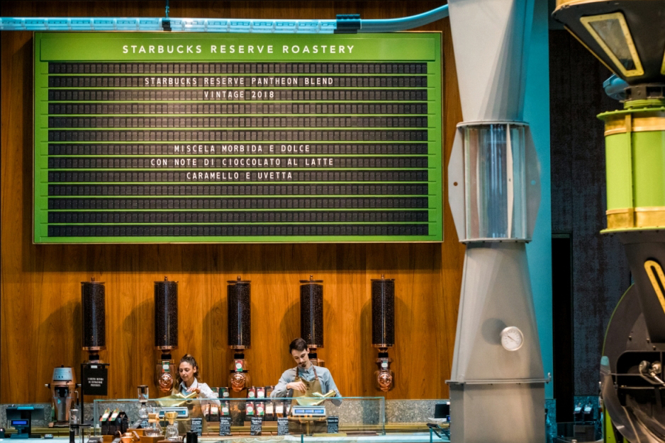 进军浓缩咖啡发源地的梦想终成真,意大利首家星巴克臻选咖啡烘焙工坊9月7日正式开业!