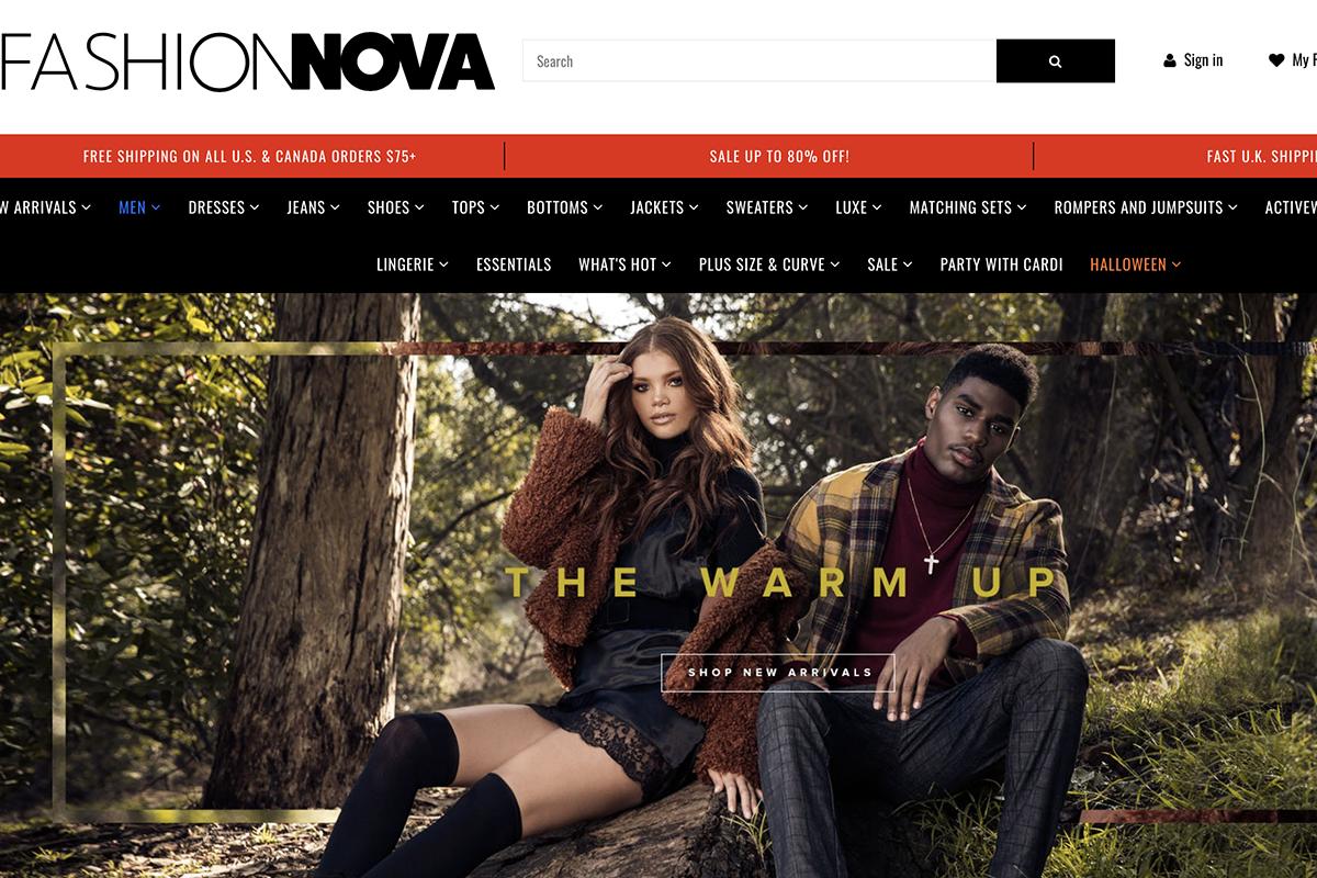 谷歌搜索排名仅次于 Supreme 的时尚品牌,为何是它?简析 Fashion Nova 的发家史