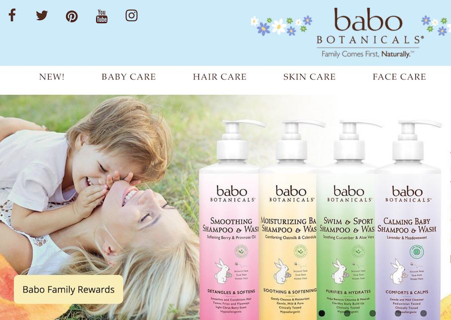 法国制药和医学护肤家族企业 Laboratoires Expanscience 收购美国婴幼儿矿植物护肤品牌 Babo