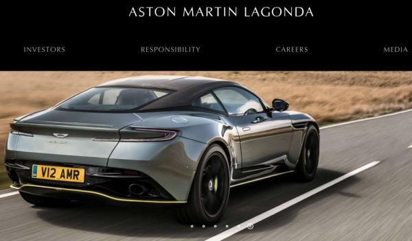 花了105年的时间,英国豪车品牌 Aston Martin终于成为了一家上市公司!当前市值41亿英镑