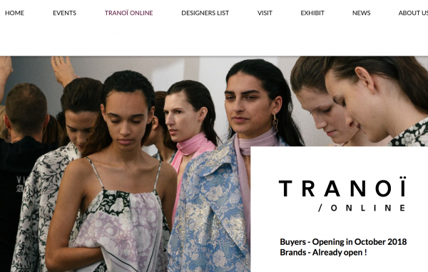 法国时装贸易展会 Tranoï 将于明年4月上海时装周期间首次在中国举办
