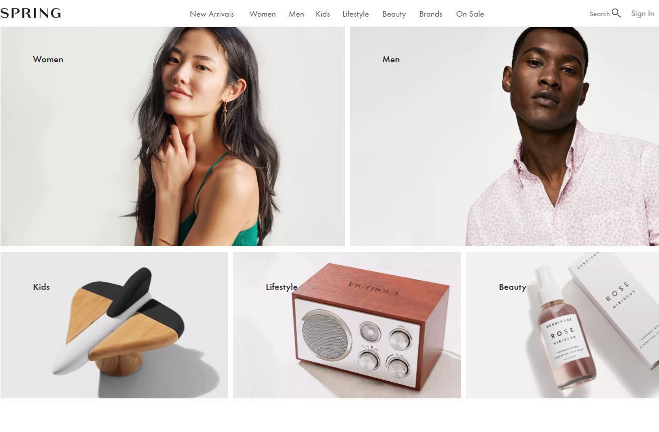 曾获得一大批时尚界和投资界巨头追捧的线上时尚购物平台 Spring 将整体出售,估值或低于融资金额