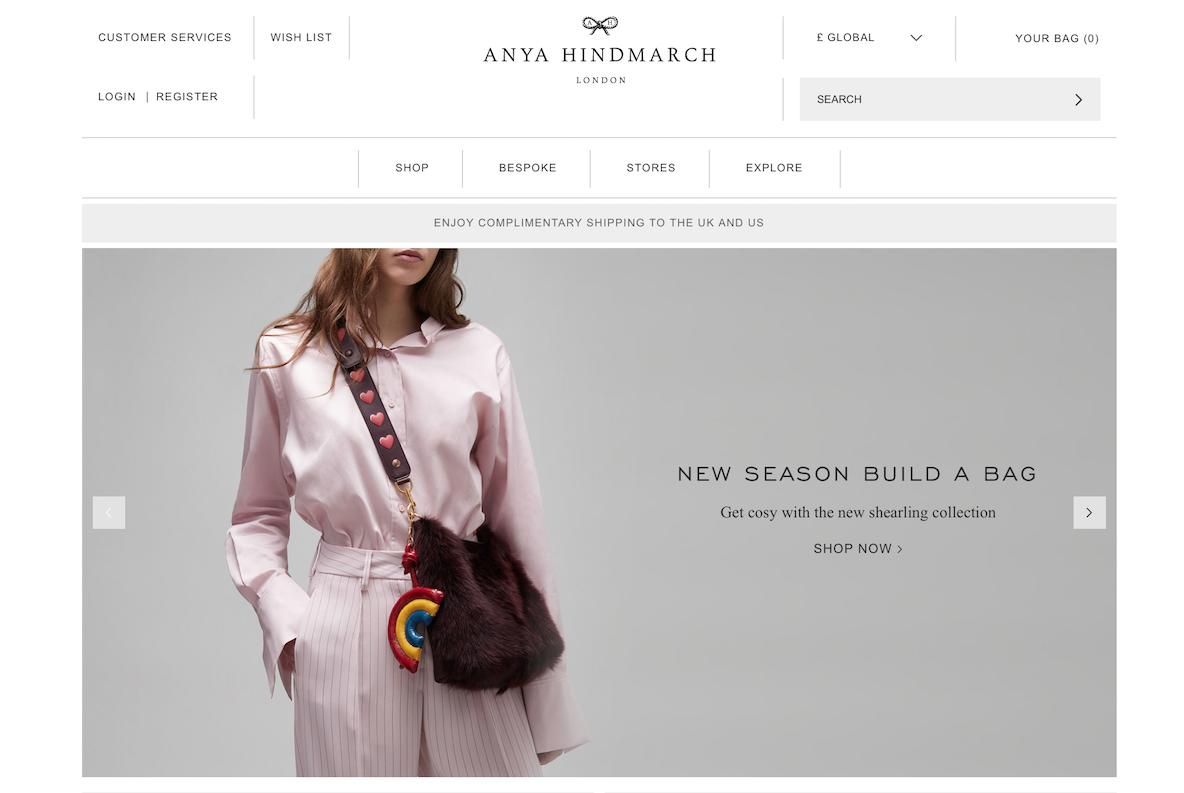 数字化行动迟缓,导致英国设计师品牌 Anya Hindmarch 销售下滑亏损扩大,披露改革计划
