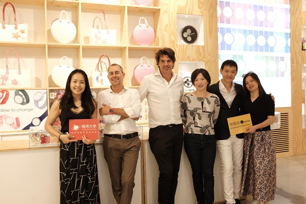 橙湾大学在意大利探访创新包袋品牌 O bag :强大的产品力让消费者主动找到我们!