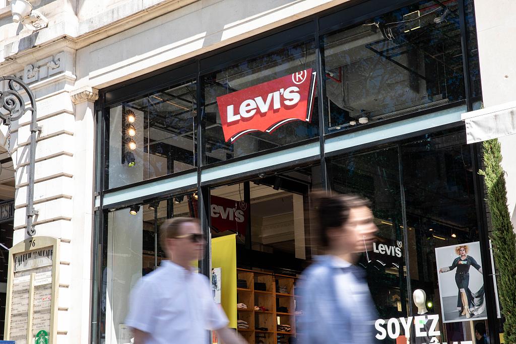 Levi's 上季度销售与盈利情况好于预期,中国大部分门店已重新开放