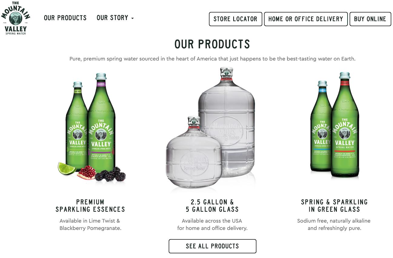 饮料供应商 Cott 集团收购有148年历史的美国高端矿泉水和苏打水品牌 Mountain Valley
