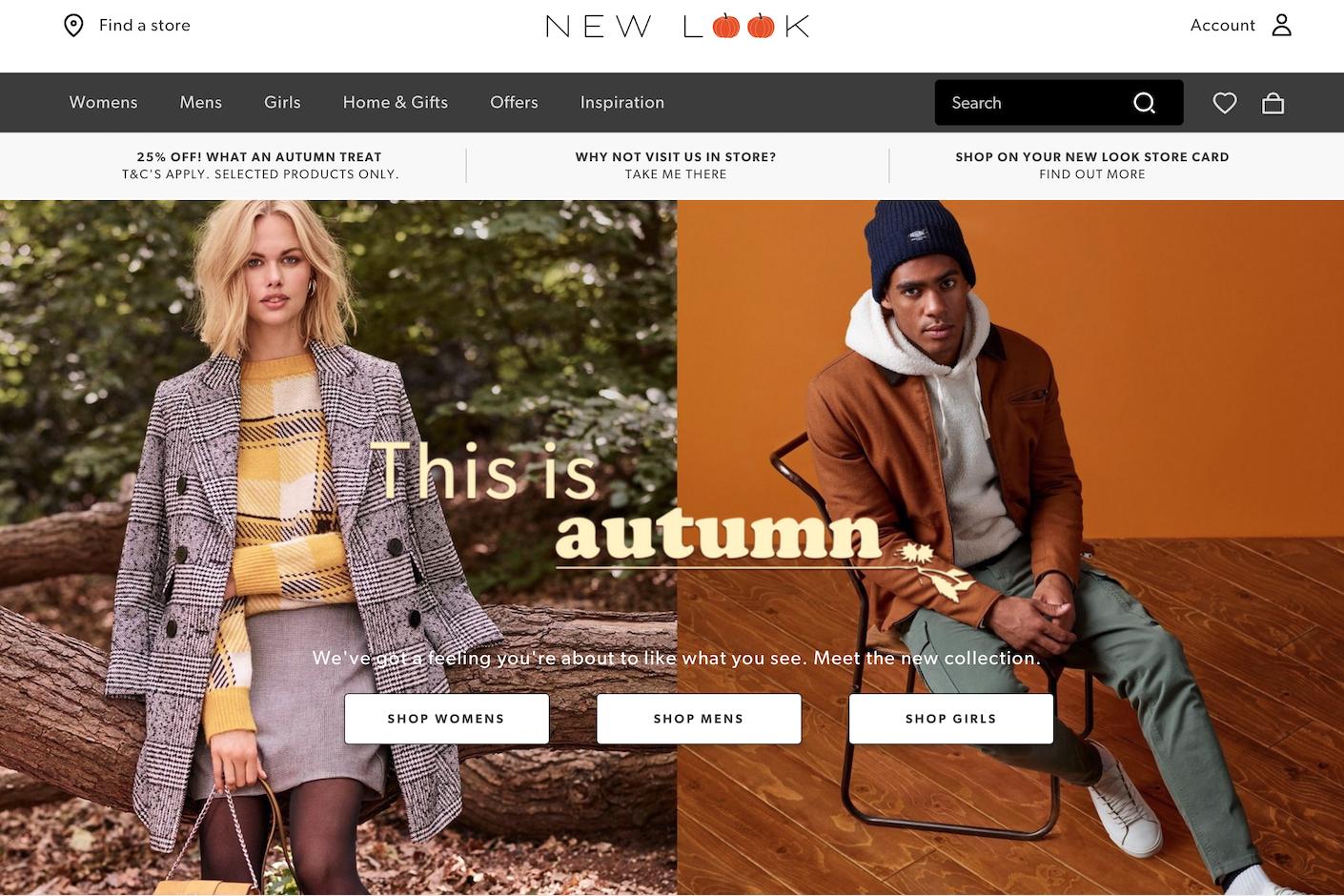 英国高街品牌New Look 宣布退出中国市场,年内将关闭剩余120家门店