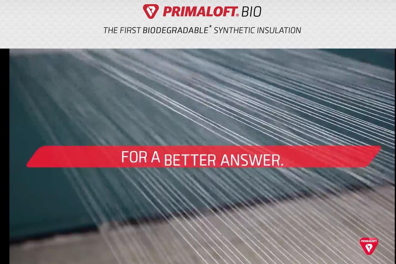 解决人造纤维的环保难题:完全使用回收材料制成、可自然降解的 Primaloft Bio 面世