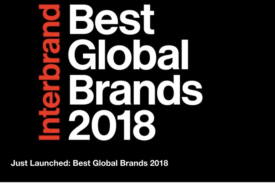 详解 Interbrand 2018全球百大品牌榜:奢侈品是品牌增值最快的行业
