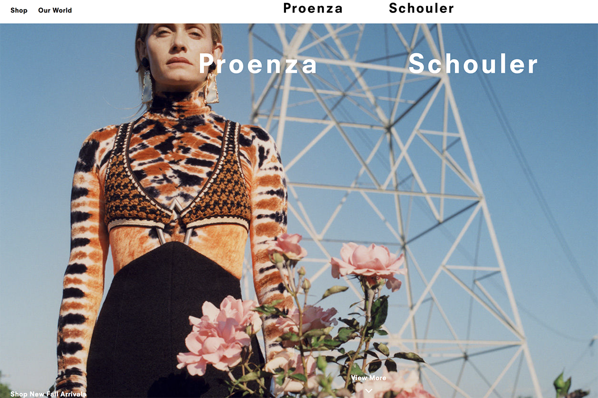 美国知名设计师品牌 Proenza Schouler 增长乏力,老股东寻求新投资人接盘