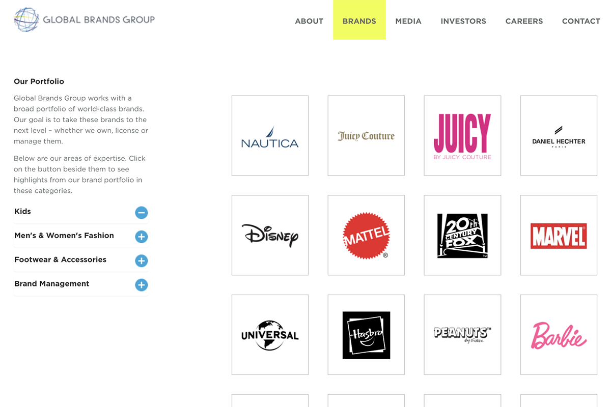 Differential Brands 12亿美元完成对利标集团大部分北美授权经营业务的收购,更名为 Centric Brands