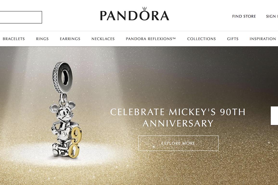 丹麦珠宝制造商 Pandora 最新季报令人失望,中国市场一枝独秀,销售增长28%