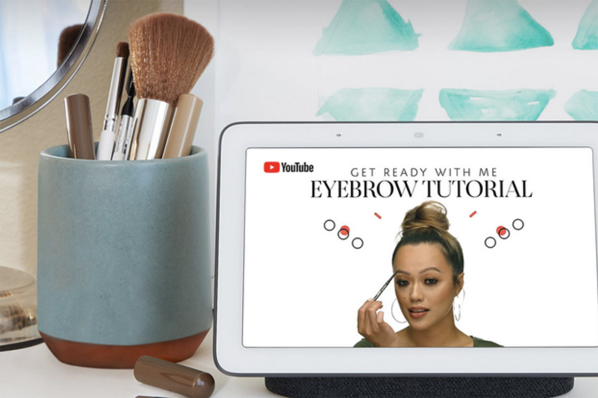 丝芙兰门店科技感再升级:携手Google推出声控交互试妆体验,解放你的双手!