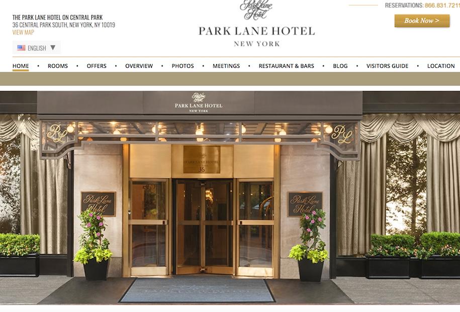 阿布扎比国有投资公司接手纽约豪华酒店 Park Lane