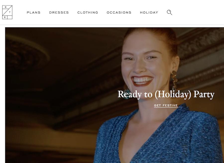 美国线上租衣鼻祖 Rent the Runway 推出设计师合作平台,开发独家胶囊系列