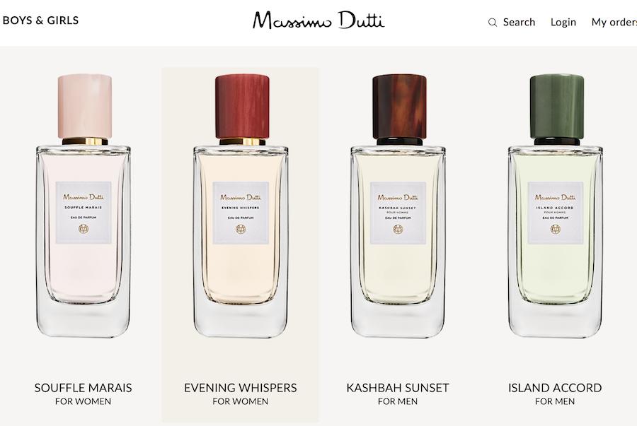 Zara 母公司, 快时尚巨头Inditex 升级旗下品牌香水产品线