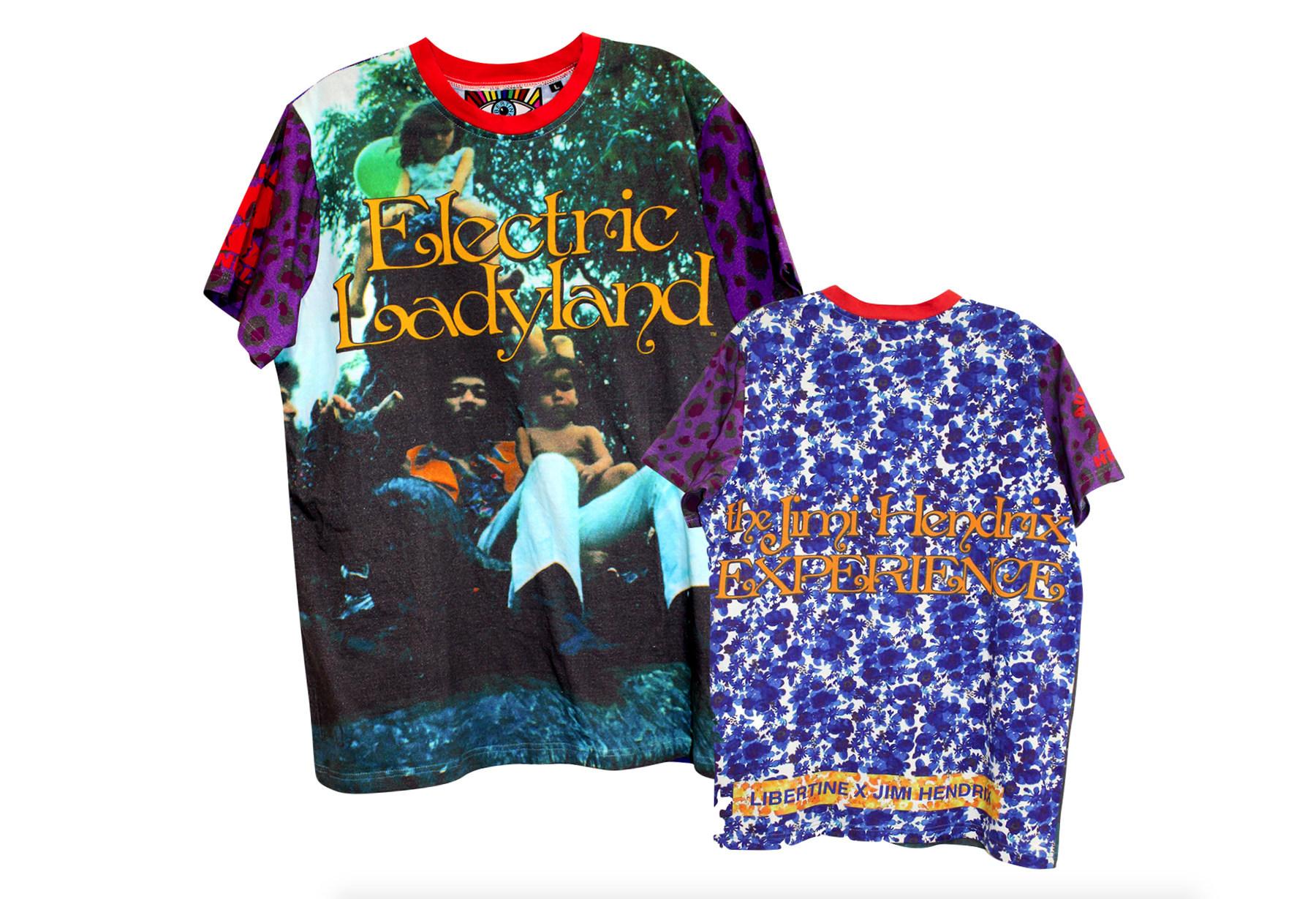 """已故""""吉他之神"""" Jimi Hendrix 的家族公司将联手洛杉矶时尚品牌 Libertine,推出奢侈服装胶囊系列"""