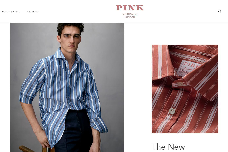 LVMH 旗下英国顶级衬衫品牌 Pink 重获新生:强化领导团队,产品门店全面升级