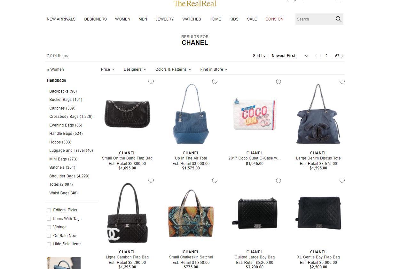 Chanel 指控美国知名二手奢侈品寄售网站 The RealReal售假,后者予以否认