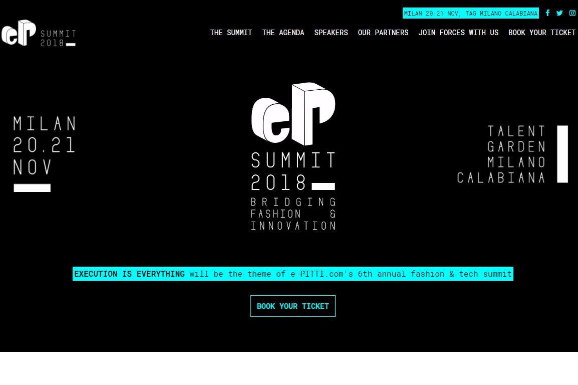 米兰、佛罗伦萨两大时尚产业关键人物聚首 e-P Summit 峰会