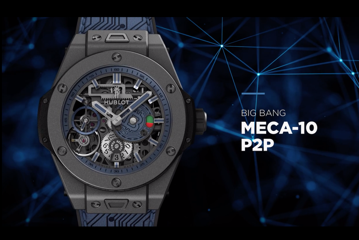 LVMH旗下瑞士奢侈品牌 Hublot 推出首款仅限比特币支付的高级手表(售价4个币)