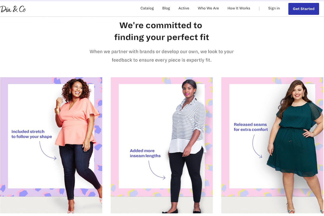 美国互联网大码女装品牌Dia&Co 完成4000万美元C轮融资
