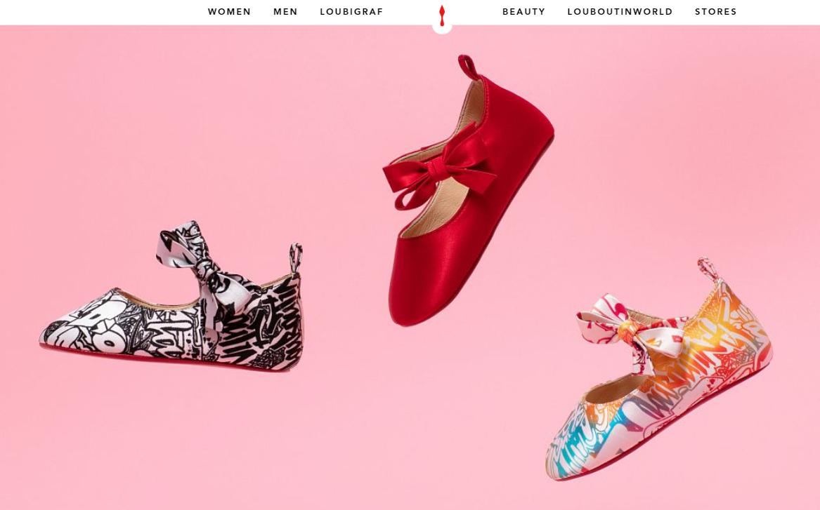 Christian Louboutin 产品延伸新动向:推出婴儿鞋胶囊系列,全球限量600双