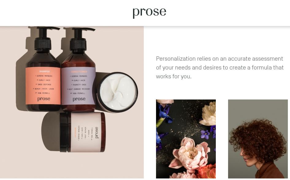 纽约专业级护发产品定制品牌 Prose 完成1800万美元B轮融资